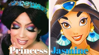 PRINCESS JASMINE Makeup!