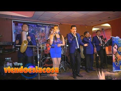 VIDEO: A FLOR DE CUMBIA - No Aguanto Mas - Tarjetita de Invitación ¡En VIVO! - VIENDO ES LA COSA 2019