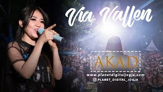 Akad - Payung Teduh  Full Hd  Cover By Via Vallen  Live Perform Seribu Batu Mang