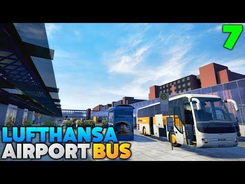 Fernbus Coach Simulator Let's Play - Lufthansa Airport Bus: Saarbrücken to Frankfurt Airport - #7