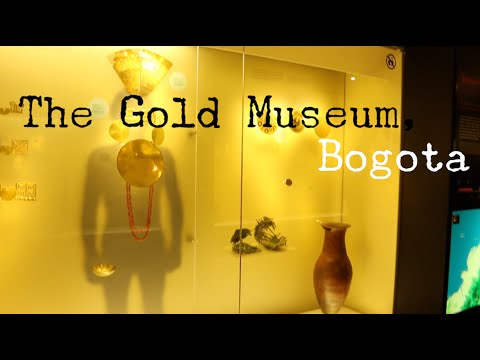 GOLD MUSEUM - BOGOTA - COLOMBIA - TRAVEL VLOG - The Adventures of Pip & Tobes