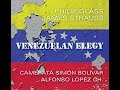 Philip Glass - James Strauss  - Venezuelan Elegy  - Worldwide release  15/11/2019