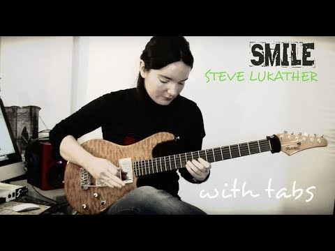 ►  Smile : Steve Lukather version (with Tabs)