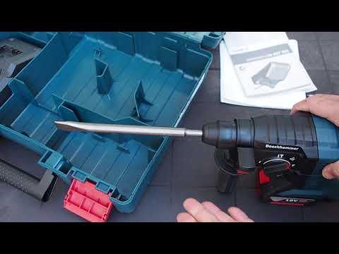 Bosch Professional 3 en 1- GBH 18V-20 - MAQUINON!! Martillo, taladro y percutor