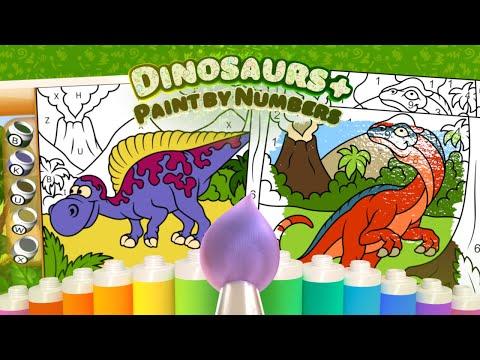 Paint By Numbers Dinosaurs Google Play De Uygulamalar