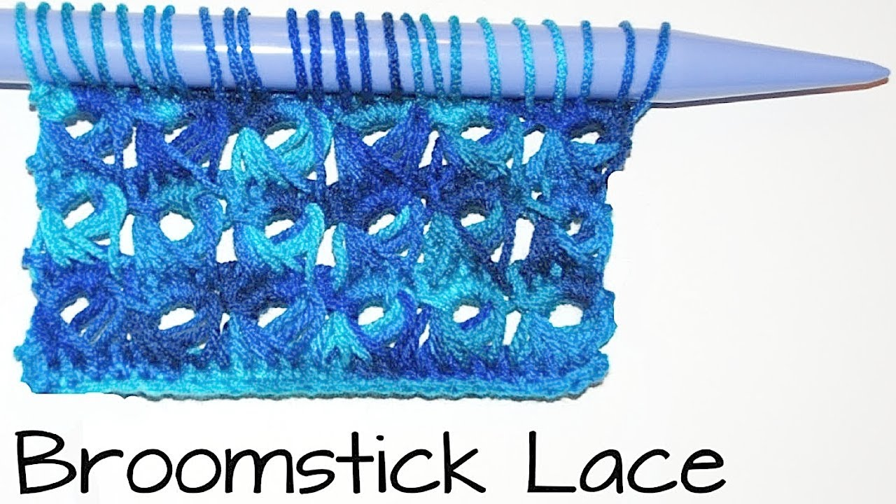 How To Crochet Broomstick Lace Stitch Scarf Part I Crochet Jewel