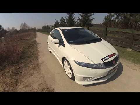 PREZENTACJA Honda Civic VIII ufo 2.0 Type R Championship White 2010 uzywanahonda.pl Krzysztof Oracz