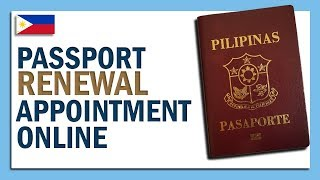 PAANO MAG - SCHEDULE NG PASSPORT RENEWAL APPOINTMENT ONLINE