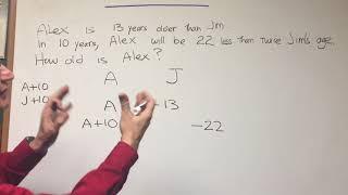 Age Problems - ORGOMAN - DAT DESTROYER - Math