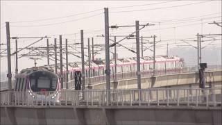 Hyundai-Rotem train of Delhi Metro! Magenta Line gains momentum!