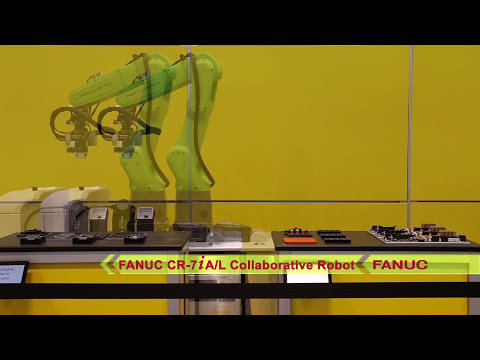 Mobile Collaborative Robot - FANUC's New CR-7iA/L Uses AGV to Move Between  Robotic Assembly Stations