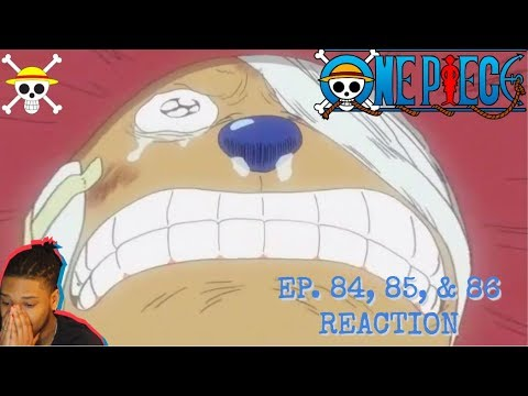 CHOPPER 🦌 THE BLUE NOSE REINDEER 😭/ ONE PIECE EP. 84, 85, & 86 REACTION