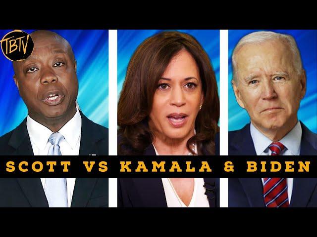 TIM SCOTT VS KAMALA HARRIS VS JOE BIDEN'S AMERICA | TIM BLACK