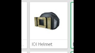 How to get the IOI helmet in Roblox