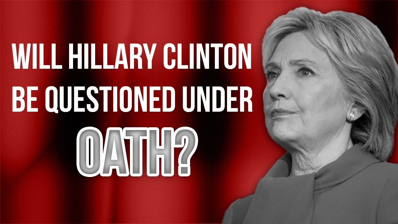 Judicial Watch What Can We Expect From Hillary Clinton IF She is Questioned Under Oath? | Tom Fitton