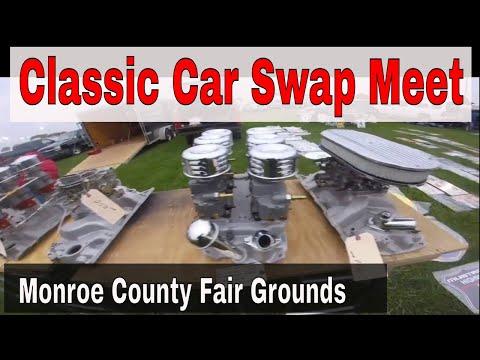Auto Swap Meet Monroe Michigan October 2017