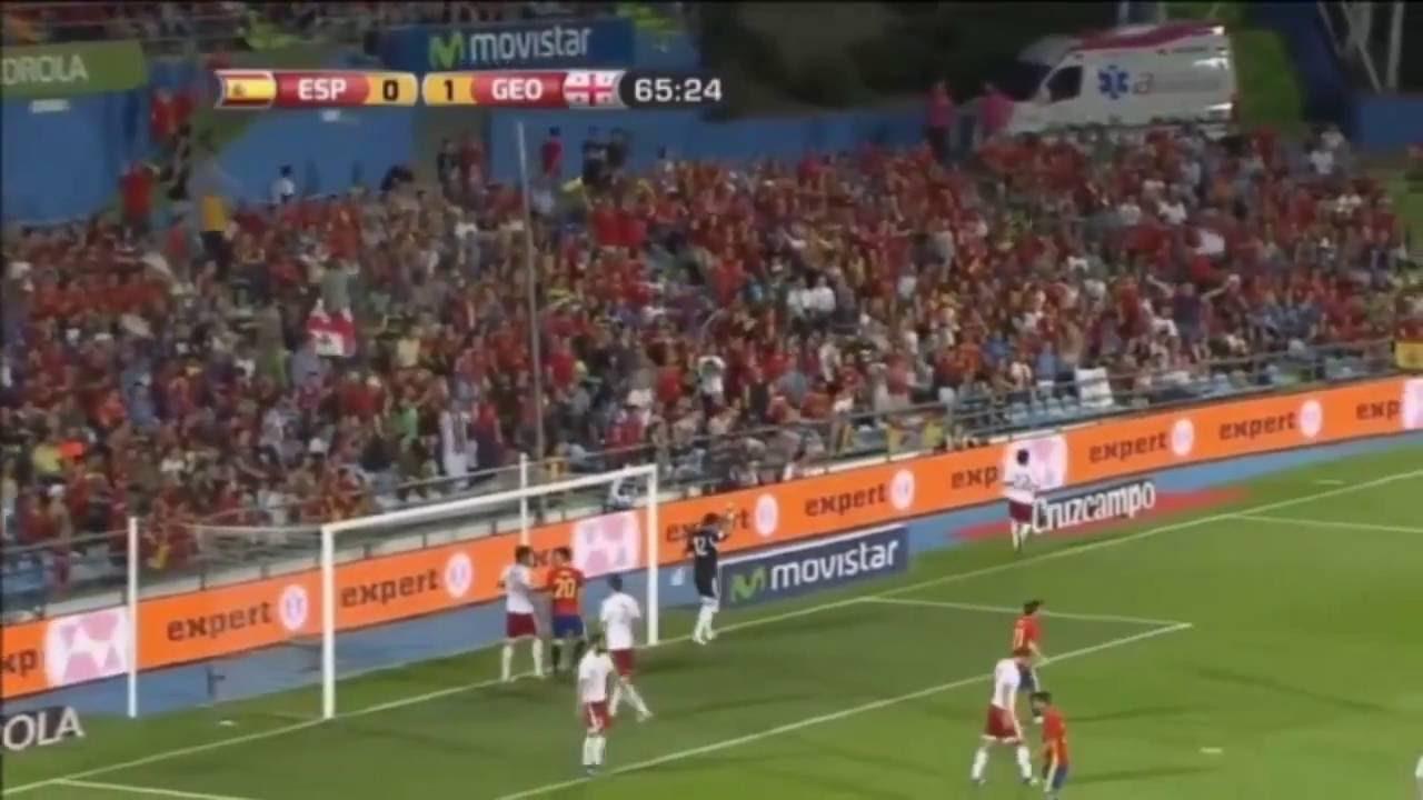 Грузия испания футбол