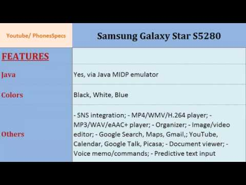 Samsung Galaxy Star S5280 YouTube | أي خدمة كوم