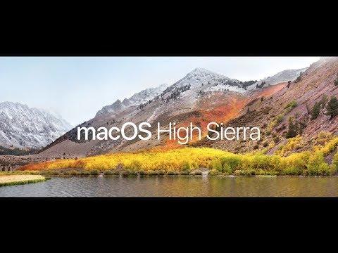 Descargar-Mac OS High_Sierra  10.13  Update  Mac OS High Sierra 10.13