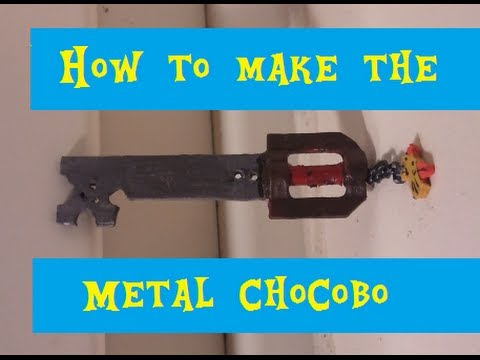 how to make the metal chocobo in lego