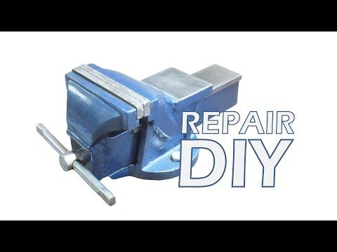 Naprawa imadła - Vise repair DIY