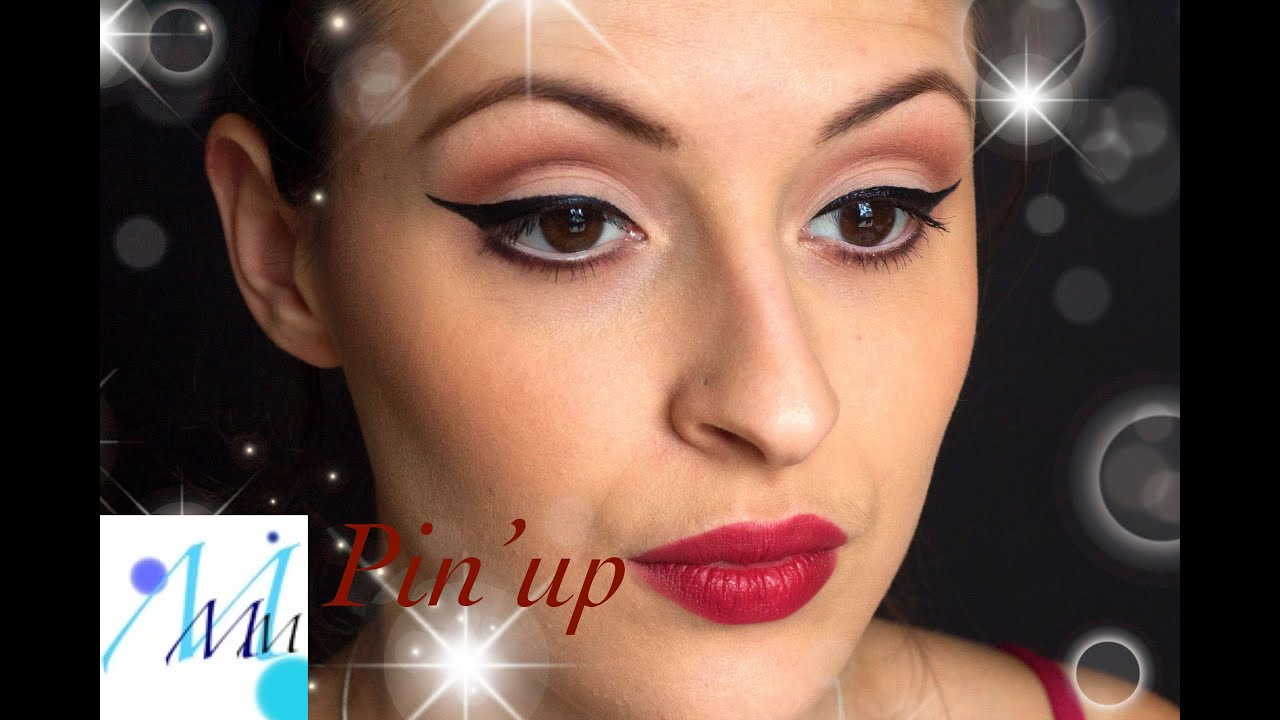 Maquillage naturel  Pinup