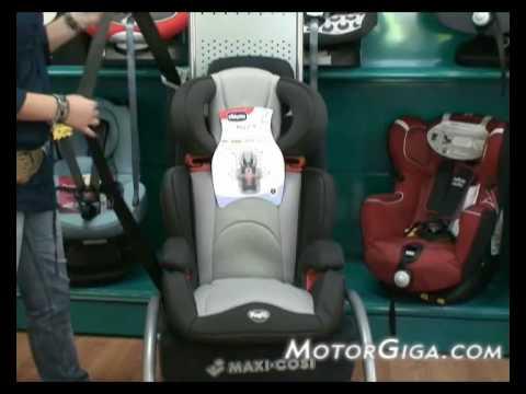 Sillas de beb para coche grupos 2 y 3 youtube for Coches con silla para bebe