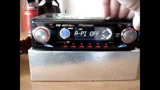 видео PIONEER DEH-P3600MP