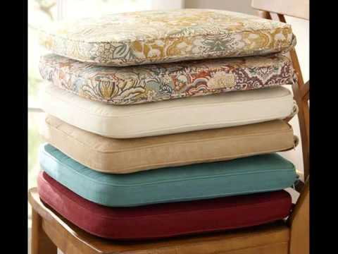 Etonnant Dining Chair Cushions U0026 Pads Collection   YouTube