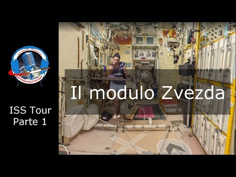 ISS Tour E01 - Zvezda