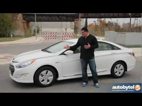2012 Hyundai Sonata Hybrid Test Drive & Car Review