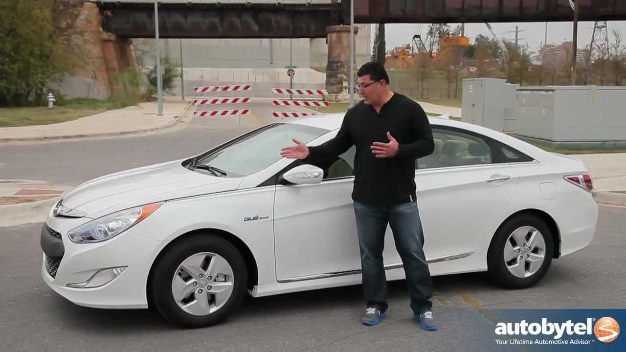 2012 Hyundai Sonata Hybrid Test Drive & Car Review - YouTube