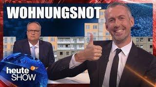 Explodierende Mieten: Was hilft gegen die Wohnungsnot? | heute-show vom 21.09.2018
