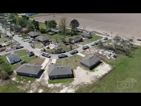 04-09-2020 Harrisburg, AR - Tornado Damage Drone