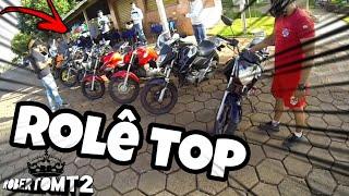Acelerando Forte Rolê Lotado De Motos /Roberto Moto Filmador
