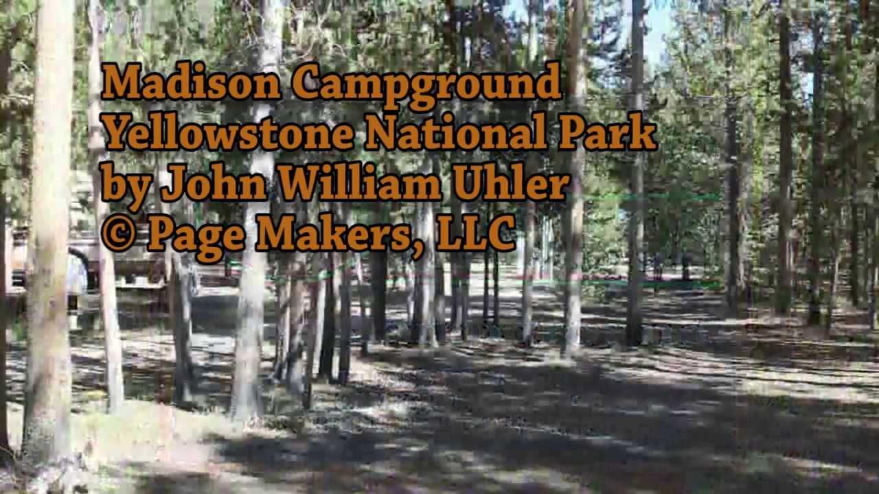yellowstone madison campground map Madison Campground In Yellowstone National Park Youtube yellowstone madison campground map