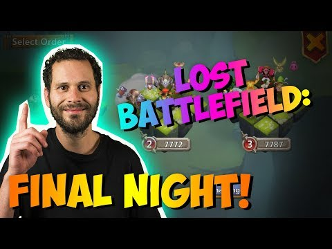 Final Day Of Lost Battlefield... Top 5 TOUGH Fights!