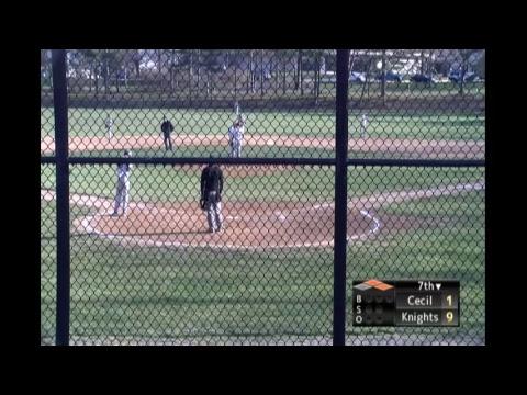 CCBC Essex Knights Baseball vs. Cecil Seahawks
