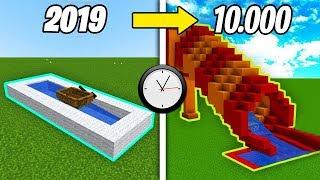 10.000 YIL SONRA SU KAYDIRAĞI NASIL OLUCAK? 😱 - Minecraft