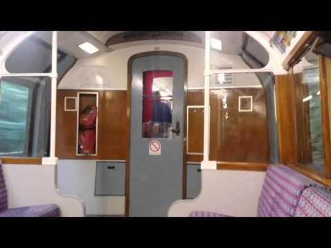 On the 1938 tube stock train back to Shanklin , Is