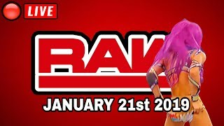 🔴 WWE RAW Live Stream January 21st 2019 - Full Show Live Reaction