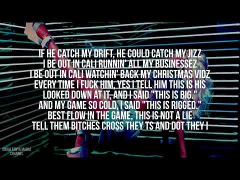 Nicki Minaj   Boss Ass Bitch Lyrics Video
