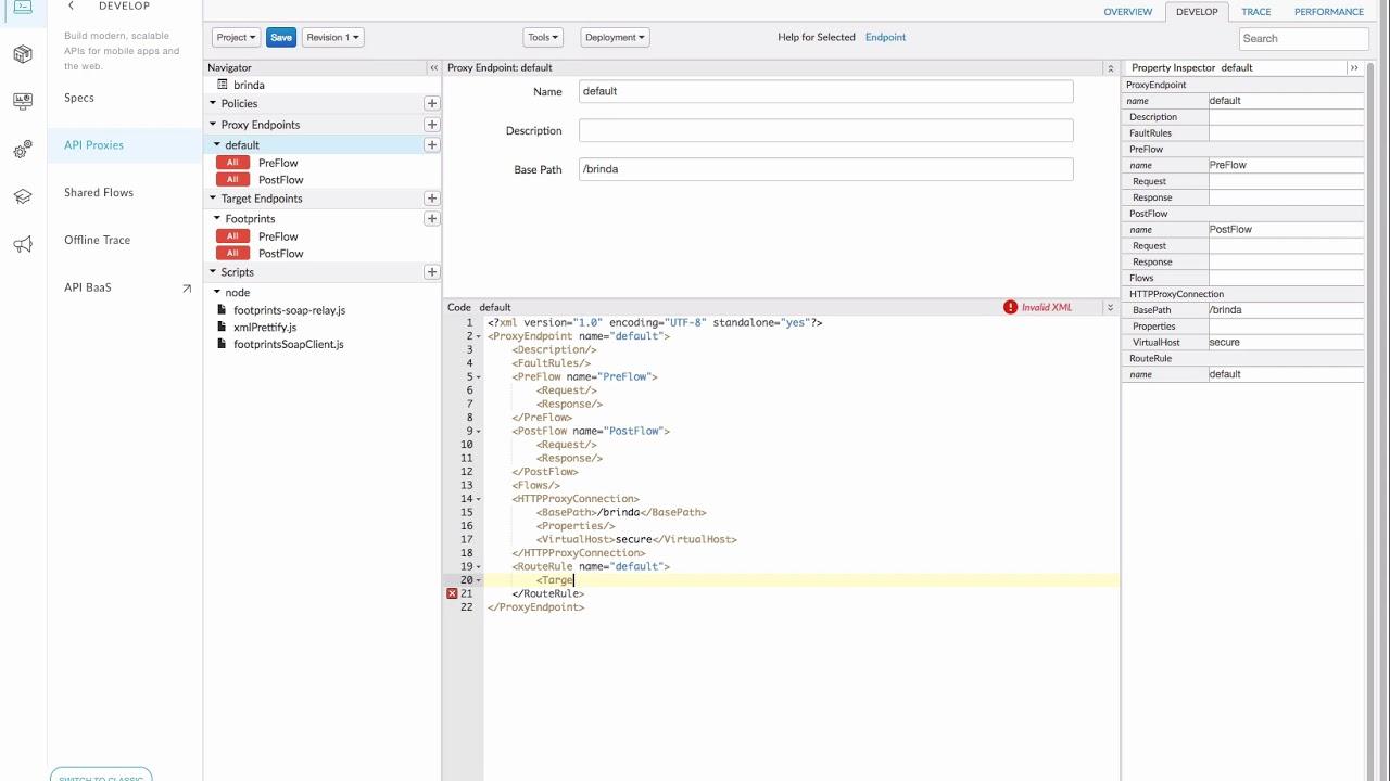 Building a Nodejs API Proxy in Apigee Edge