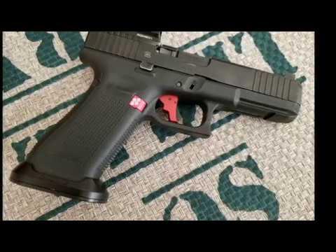 Dawson Ice Precision Magwell for Glock 17 Gen 5 MOS Install