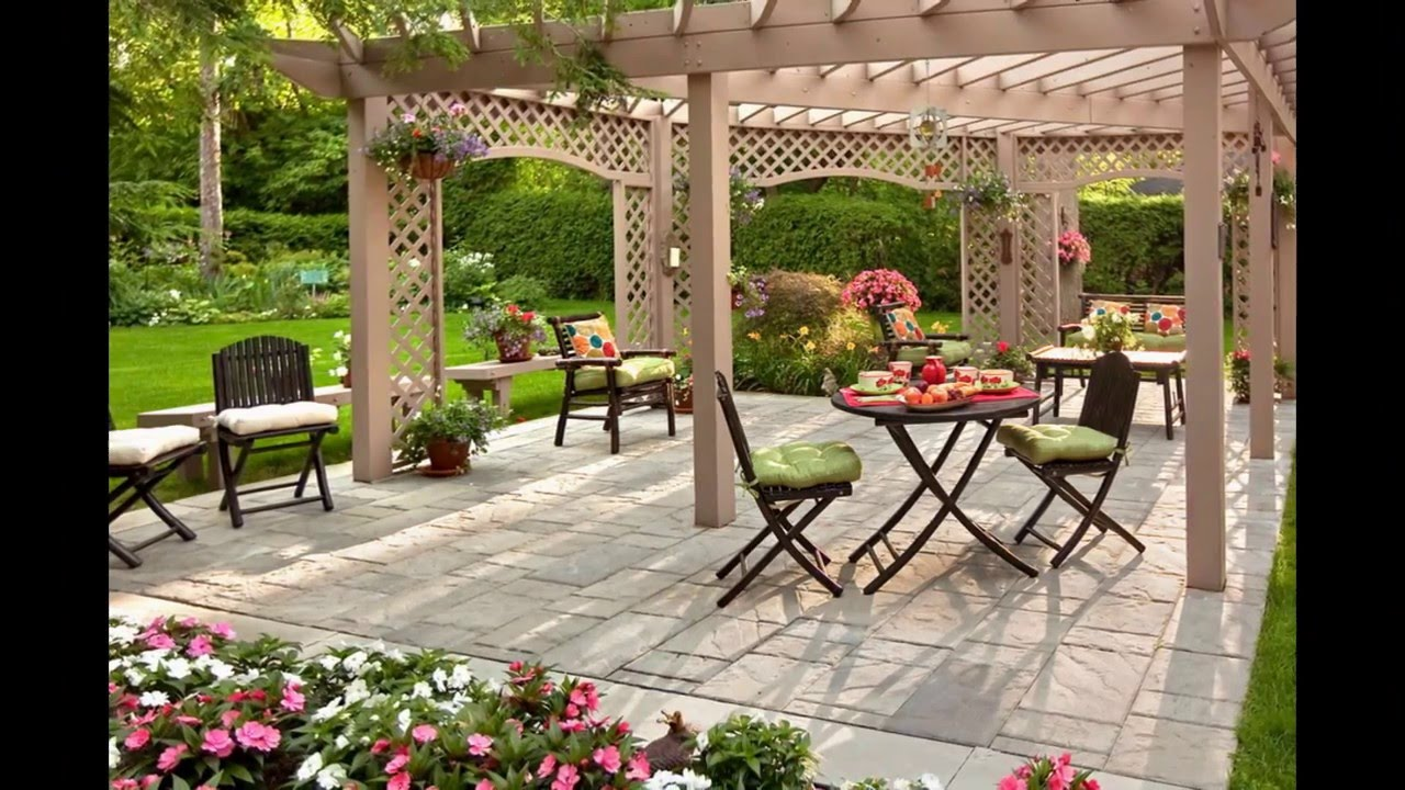 Backyard designs small backyard designs backyard landscaping designs youtube Designer backyards
