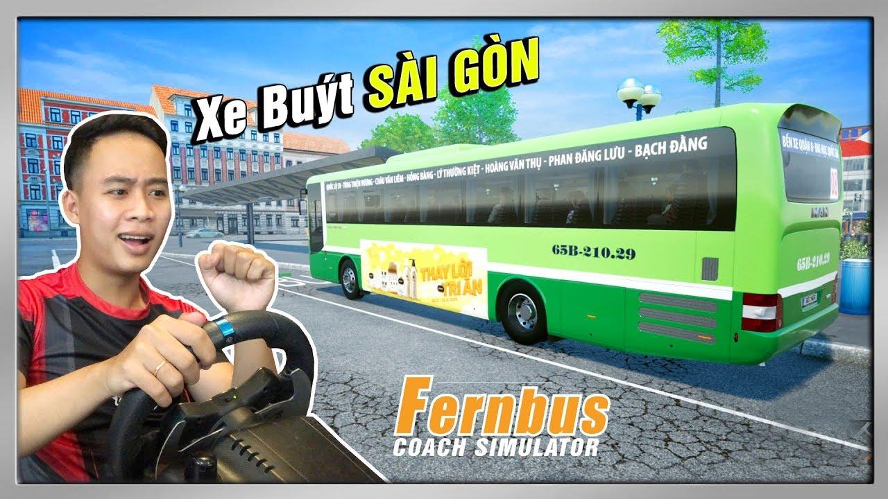 Xe Buýt Rước Khách Quanh Thành Phố Sài Gòn | Fernbus Simulator