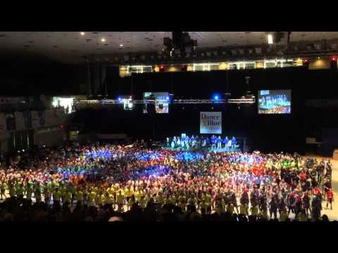 DanceBlue 2015 Marathon Finale Dance University of Kentucky (UK Dance Blue) Part 2