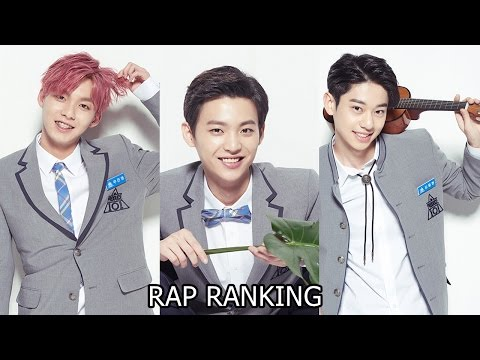 PRODUCE 101 S2 POSITION EVALUATION RANKING RAP EP.7