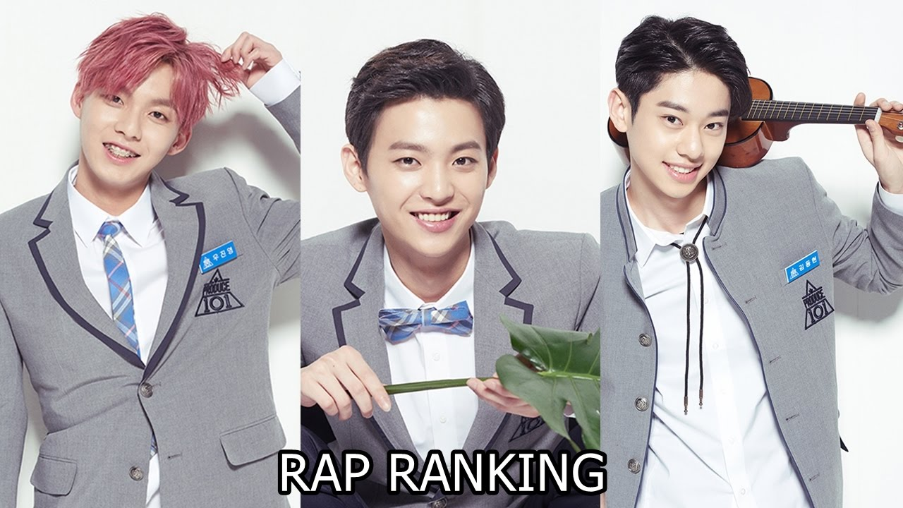 PRODUCE 101 S2 POSITION EVALUATION RANKING (RAP) EP.7 - YouTube