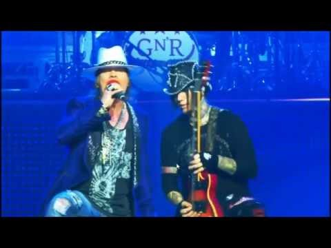 Guns N' Roses Dj Ashba All solos in Las Vegas Part 2